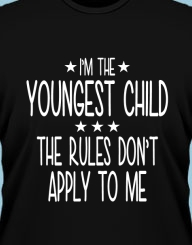 I'm the Youngest Child'